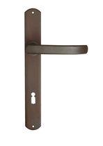 Door handle / metal / contemporary