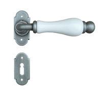 Door handle / porcelain / traditional