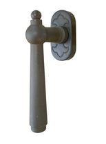Tilt-and-turn window handle / iron / traditional