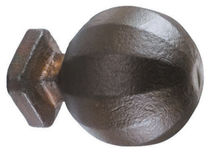 Contemporary door knob / stainless steel