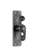 Window handle / wrought iron / rustic