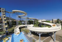 Curved slide / for water parks / rafting