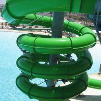 Curved slide / for aquatic parks / tube
