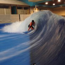 Aquatic park flowrider