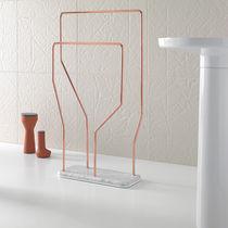 2-bar towel rack / floor-standing / metal / by Arik Levy