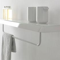 Wall-mounted shelf / contemporary / metal / bathroom