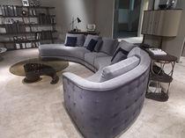 Semicircular sofa / contemporary / fabric / 6-seater