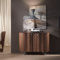Contemporary sideboard / in wood