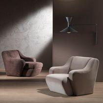 Contemporary armchair / acrylic fiber / modular