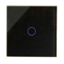 Light switch / touch / glass / contemporary