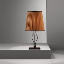 Table lamp / contemporary / fabric