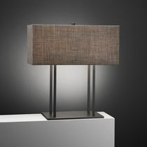 Table lamp / contemporary / fabric / metal