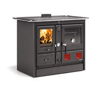 Wood range cooker / cast iron / for boilers