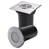 Recessed wall spotlight / recessed floor / indoor / LED