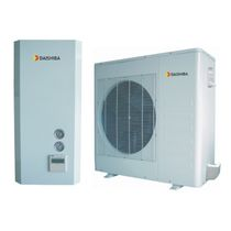 Air source heat pump / commercial / inverter
