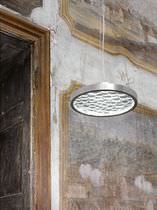 Pendant lamp / original design / crystal / LED