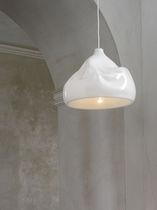 Pendant lamp / original design / glass / blown glass