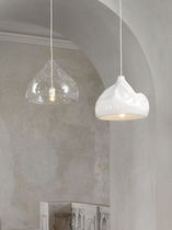 Pendant lamp / original design / glass / blown glass