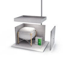 Pellet boiler / solar / commercial / outdoor
