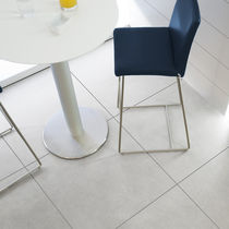 Indoor tile / for floors / porcelain stoneware / satin
