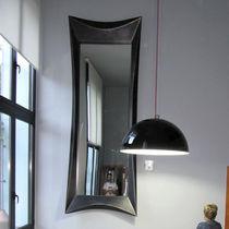 Wall-mounted mirror / original design / rectangular / square