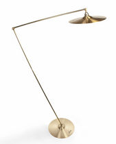 Floor-standing lamp / original design / brass / handmade