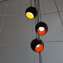 Pendant lamp / original design / rubber