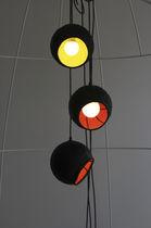 Pendant lamp / original design / rubber