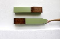 Wall-mounted shelf / original design / wood