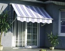 Folding-arm awning / manual