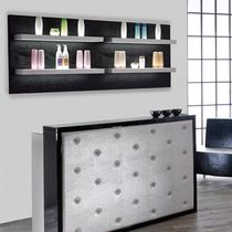 Wall-mounted shelf / contemporary / wooden / commercial