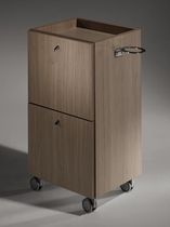 Treatment trolley / wood / for beauty salons