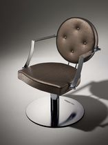 Styling armchair / contemporary / aluminum / WPC