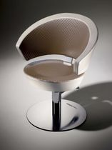 Styling armchair / contemporary / polyurethane / steel