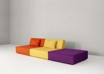 Modular sofa / contemporary / fabric / multiplace
