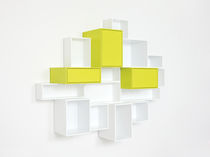 Wall-mounted shelf / contemporary / MDF