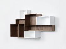 Contemporary bookcase / MDF