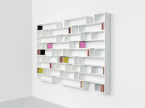 Wall-mounted shelf / contemporary / MDF / for CDs