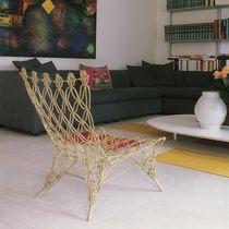 Original design fireside chair / aramid fiber / by Marcel Wanders