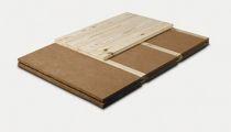 Panel resilient underlay / wood fiber / felt