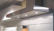 Wall-mounted range hood / island / original design