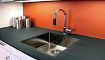 1-bowl kitchen sink / stainless steel
