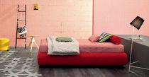 Single bed / contemporary / fabric / 140x190 cm