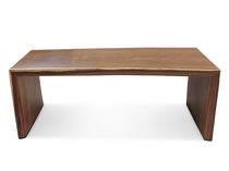 Work table / contemporary / wooden / rectangular