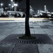 Concrete tree grate / square / ultra high performance (UHPC)