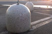 Anti-parking bollard / marble / concrete