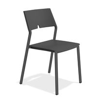 Contemporary visitor chair / folding / plastic