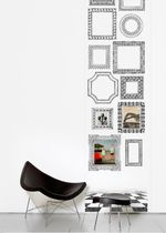 Contemporary wallpapers / geometric / black / printed