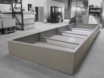 Steel planter / custom / modular / for public spaces
