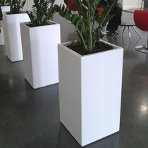 Composite planter / rectangular / custom / wheeled